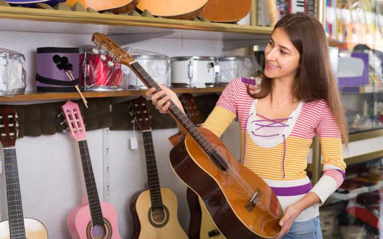 How to choose a musical instrument like guitar
