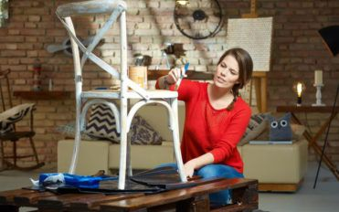 Transform spaces in your home using DIY arts and crafts ideas